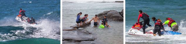 Sea Rescue by the Specialised Rescue Unit