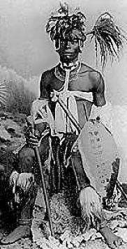 Shaka kaSenzangakhona also known as Shaka Zulu - the most influential leader of the Zulu Kingdom.