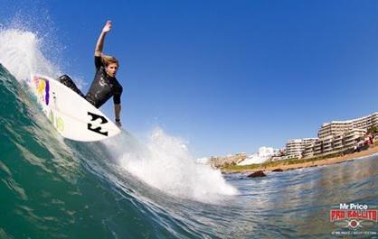 mr Price pro Surf at Williard Beach Ballito