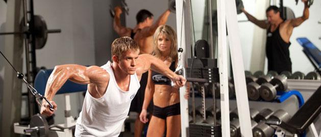 Gym workout in Ballito