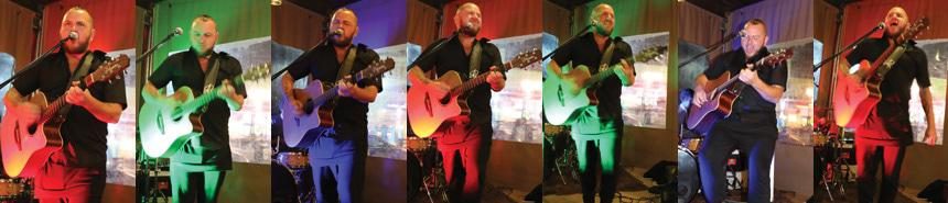 Ard Matthews live at Mamma Gs in Ballito