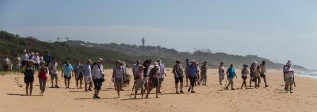 Beach Walk for Crocworld monthly lecture