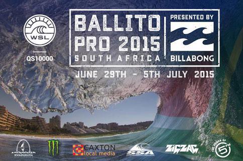 Ballito Pro Surf Comp 2015