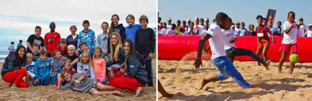 Beach fun at Ballito Pro