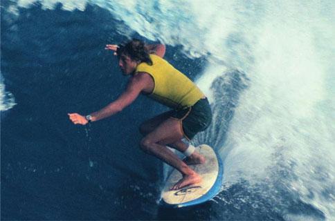 Shaun Tomson Surf Professional in Durban