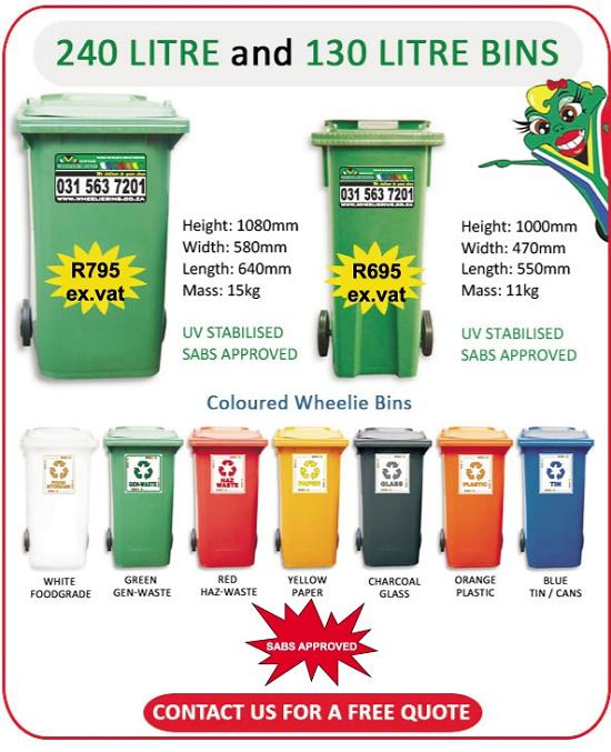 Wheelie Bins South Africa