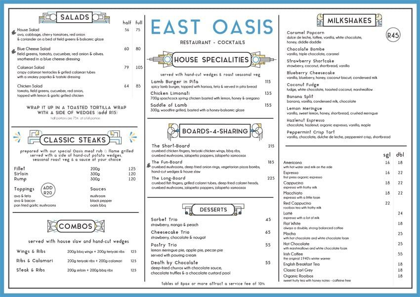 East Oasis Grill Ballito