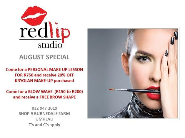 August Special at Red Lip Studio