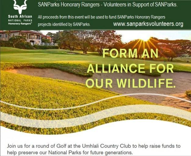 SANParks Golf Day 2017