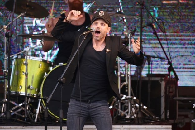 Kahn Morbee of The Parlotones LIVE in Ballito for the first time at The Marriott Ballito Beats Music Concert at Sugar Rush Park Images courtesy of Impi Concepts_Timothy Lubbe
