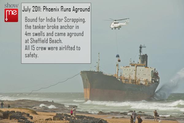 Shipwreck in Ballito
