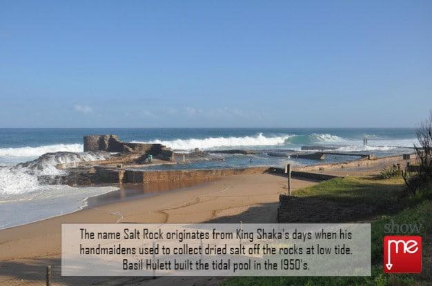 King Shaka at Salt Rock Beach