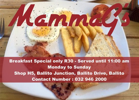 MammaG's Breakfast Special