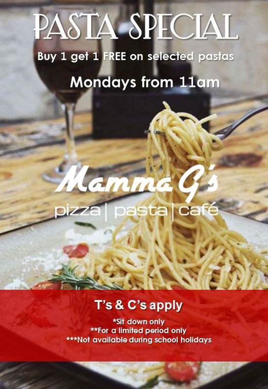 Monday Special Offer Mammag's
