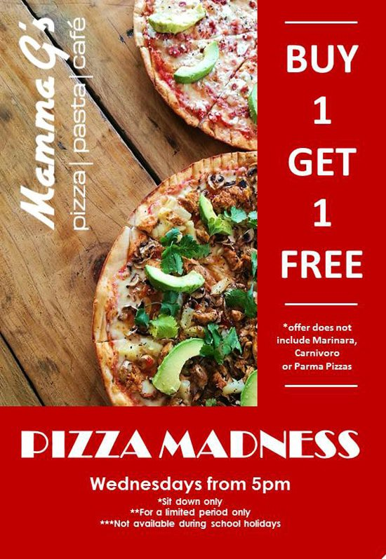 Wednesday Pizza Madness Special