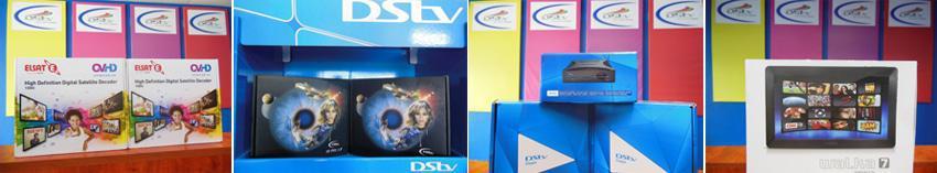 Decoders at Brits Satellite and TV