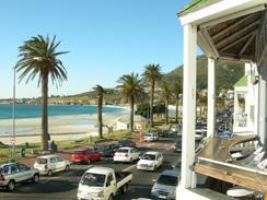 Camps Bay from the bars
