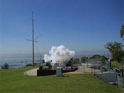 The Noon Day Gun on Signal Hill