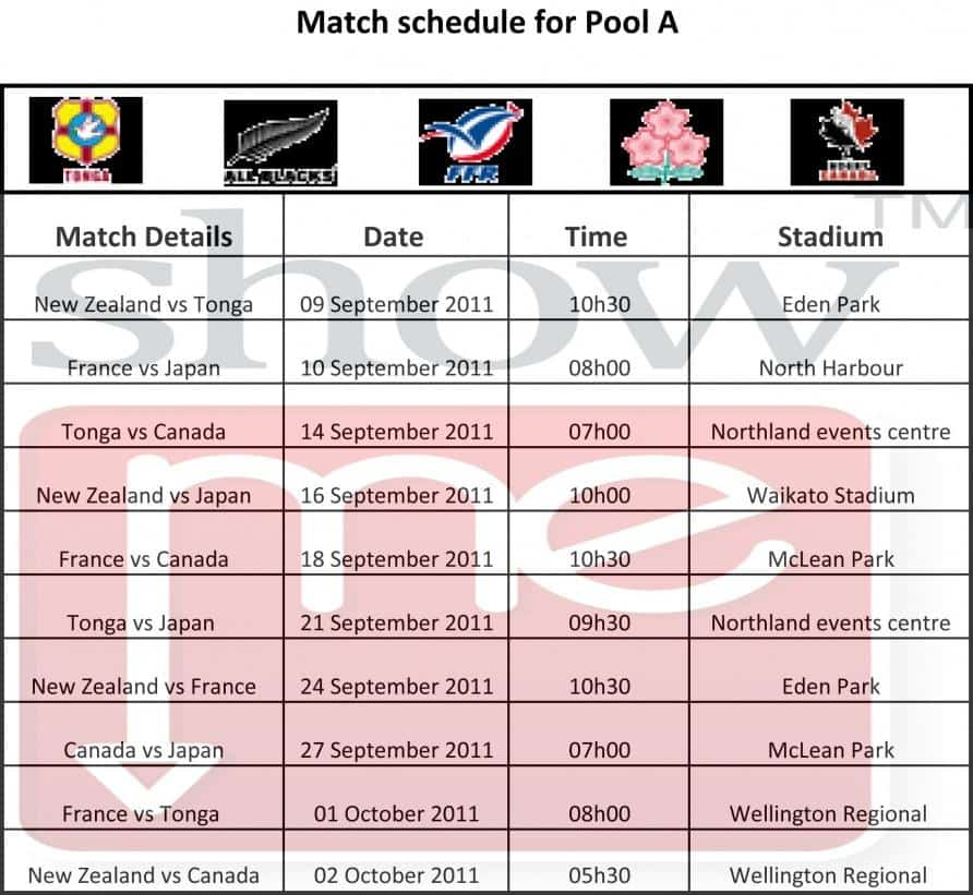 This is an image of Shocking Rugby World Cup Schedule Printable