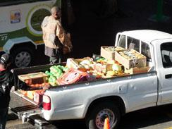 Fresh delivery of fruit and vegetables