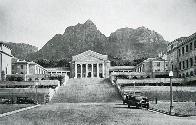 The Main Campus of the University of Cape Town in the 1930's