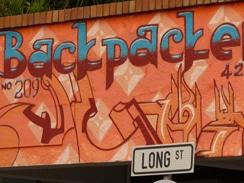 Backpackers on Long Street, Cape Town CBD