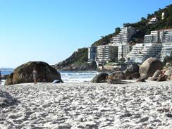 Clifton - beach-front accommodation with superb sea views
