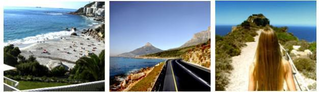 Day Trip to Cape Point. In this Photo, Llandudno, Chapmans Peak & Cape Point