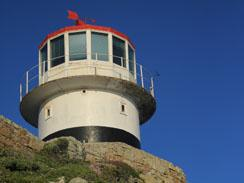 One of the lighthouses at Cape Point