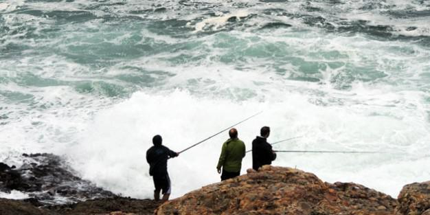 Fishing spots near Cape Town