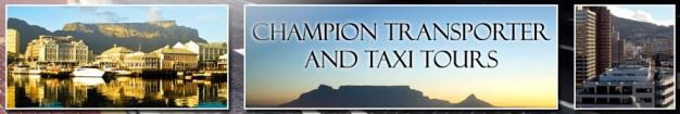 Champion Taxi's - Good rate Taxis and tours around Cape Town