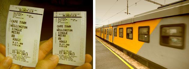Metrorail Tickets and Train