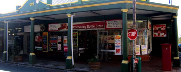 Observatory Bottle Store