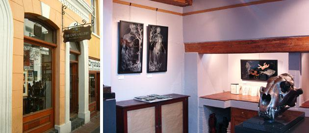 The-Cape-Gallery-interior and exterior