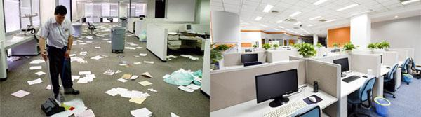 Cleaning offices is more valuable to your staff than you think