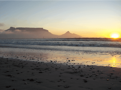 What makes Cape Town widely visible?