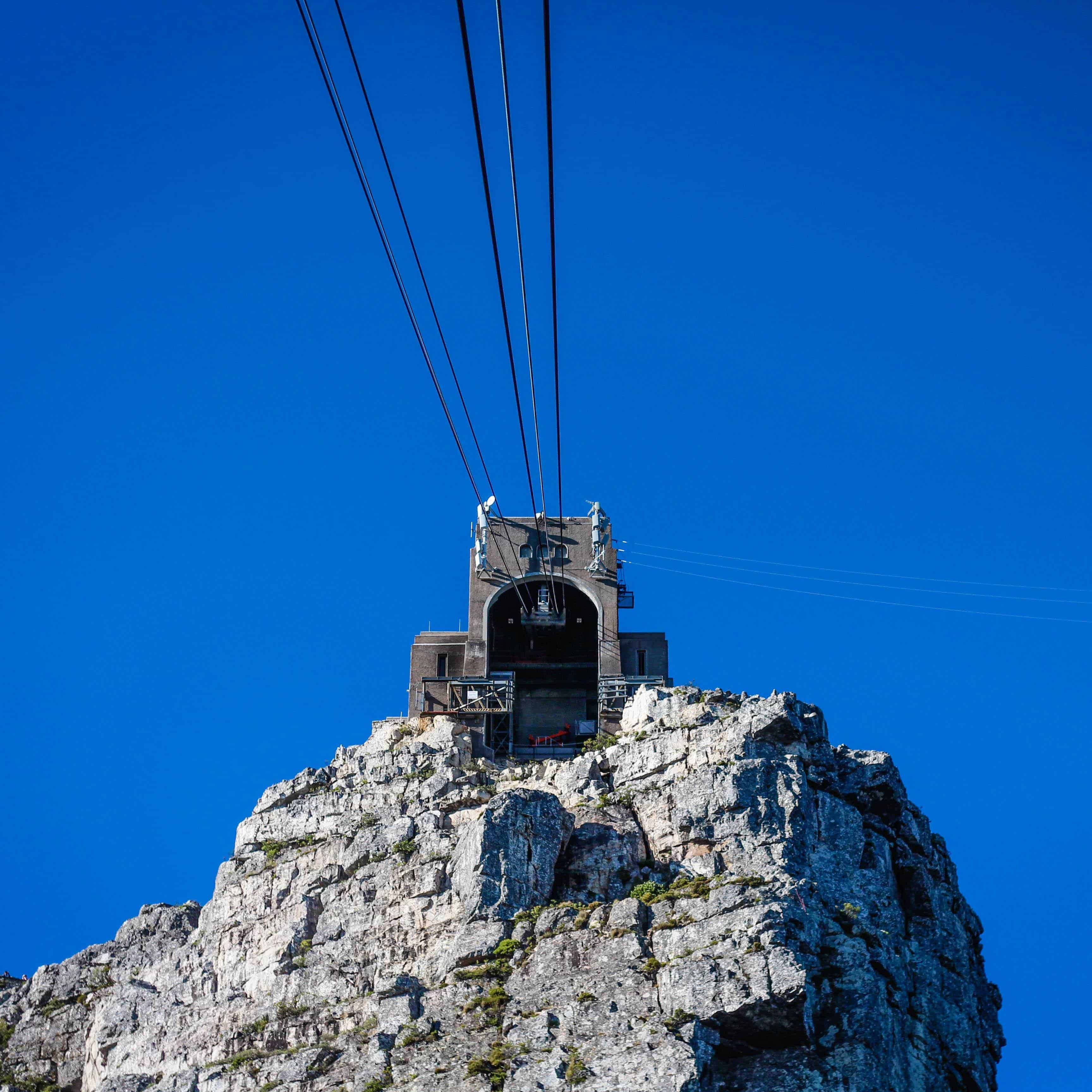 Riding the Table Mountain Cable Car