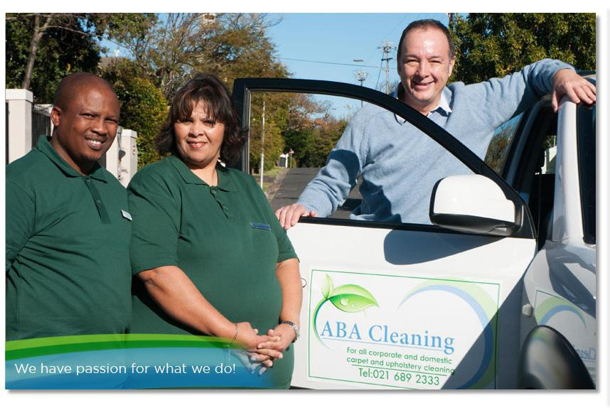 The ABA Professional Cleaning Services Team