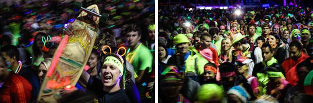 Neon Run in Cape Town