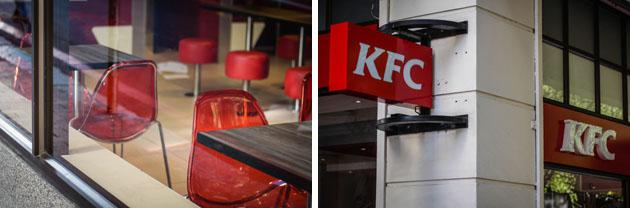 KFC restaurant cape town