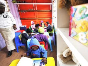 Khayelitsha crèche gets container premises