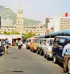 Cape Town unveils South Africa's first 'green' taxi rank
