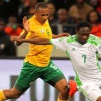 Bafana held by Super Eagles