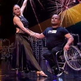 Disabled dancing duo steals the spotlight on SA's Got Talent