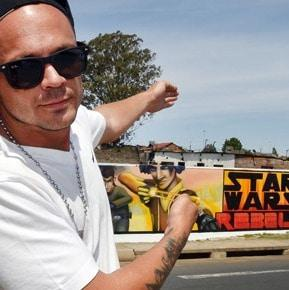 Disney uses graffiti to market Star Wars Rebels Characters