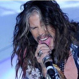 We just chatted to Steven Tyler and he invited us backstage!