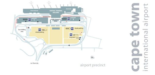 Cape Town International Airport Tips Map Amp Parking