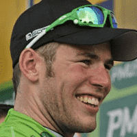 South African Cycling Cavendish sprinting to Cape Town