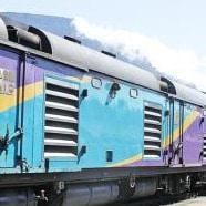 New diesel locomotive unveiled in Cape Town