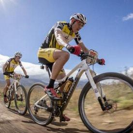 Sauser/Kulhavy sail through windy stage in Cape Epic